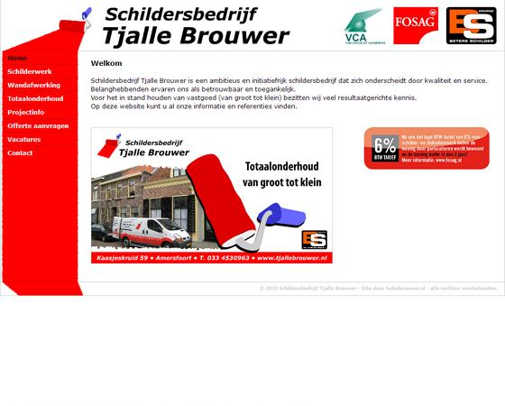 Schildersbedrijf Tjalle Brouwer