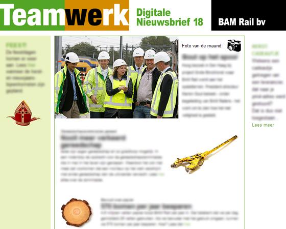 BAM Rail Teamwerk Digitaal